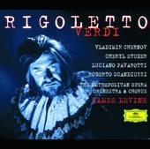Cheryl Studer, James Levine, Luciano Pavarotti, Metropolitan Opera Orchestra & Vladimir Chernov - Verdi: Rigoletto  artwork