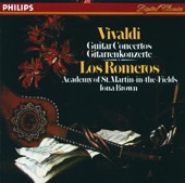 Academy of St. Martin in the Fields, Iona Brown & Los Romeros - Vivaldi: Guitar Concertos  artwork