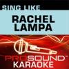Sing Like Rachael Lampa (Karaoke Performance Tracks)