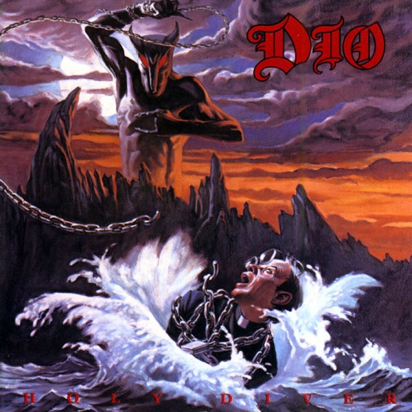 Holy Diver by Dio Album Art