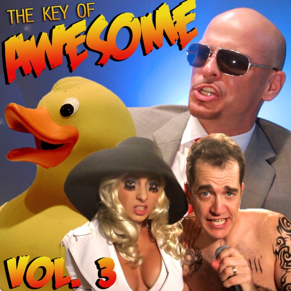 The Key of Awesome Vol 3 The Key of Awesome CD cover