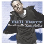 Cover to Bill Burr's Emotionally Unavailable: Expanded Edition