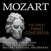 Mozart Festival Orchestra, Alfred Scholz, Svetlana Stanceva & Leonard Hokanson - Mozart: The Great Piano Concertos  artwork