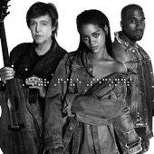 Rihanna and Kanye West and Paul McCartney - FourFiveSeconds illustration
