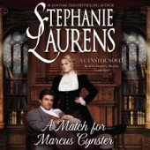 Stephanie Laurens - A Match for Marcus Cynster: The Cynster Novels, Book 23 (Unabridged)  artwork
