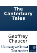 Geoffrey Chaucer - The Canterbury Tales  artwork
