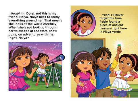 iTunes - Books - Meet Naiya! Read-Along Storybook (Dora ...
