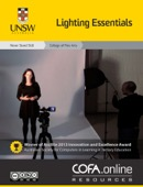 Simon McIntyre & Andrew Langcake - Lighting Essentials - COFA Online Resources  artwork