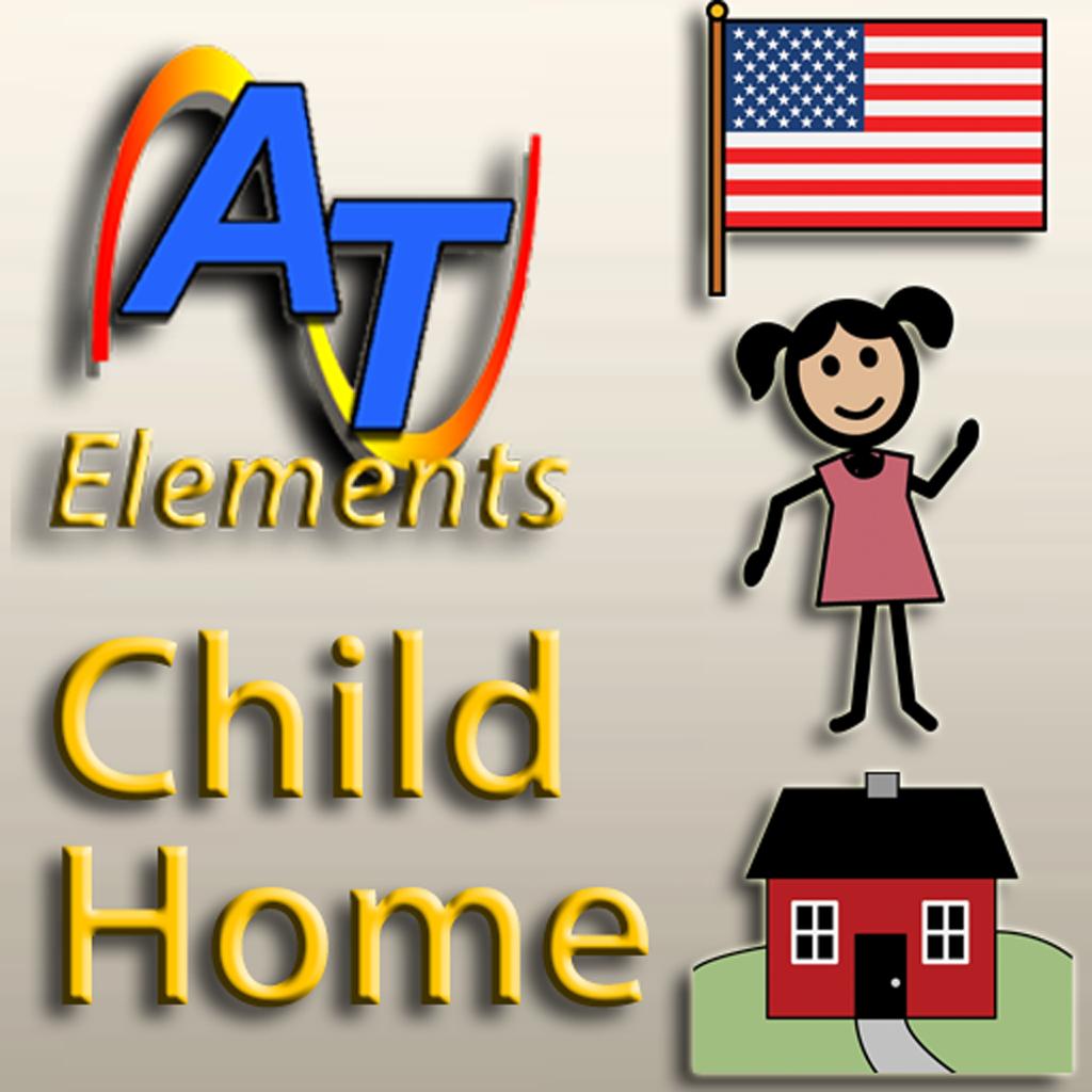 Alexicom Elements Child Home (F) SymbolStix