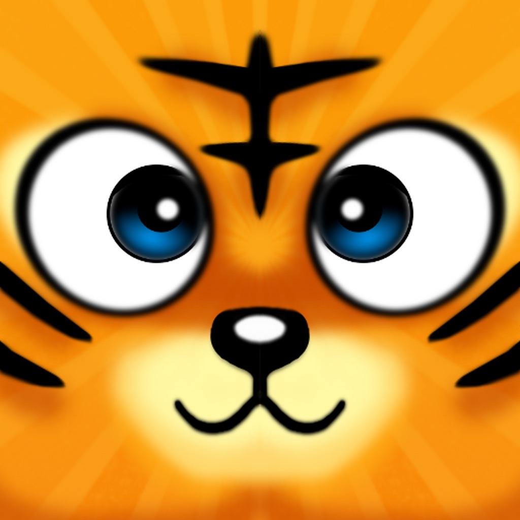 00iphoneipad 一款3d动作游戏,可爱的小老虎被抓入动物园关了,现在