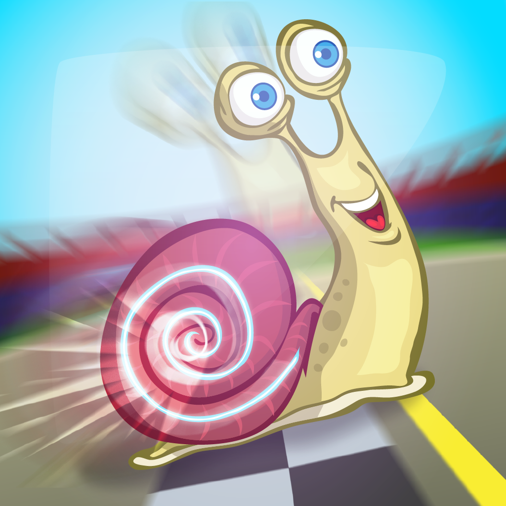 Turbo Snail: Race Of Super Jumps - Free Racing Game icon