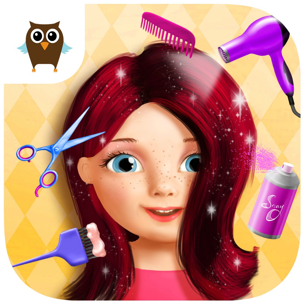 Sweet baby girl beauty salon kids game par uab for Makeup salon