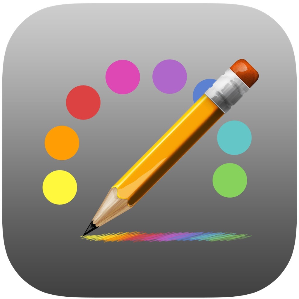 Scribble Keyboard - keyboard for iOS8 to draw, paint and dood...