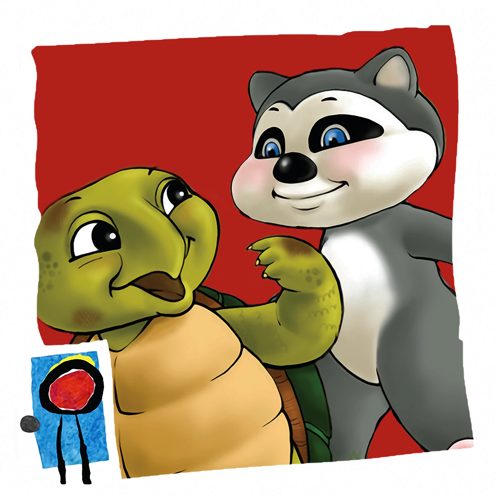 Rowdy Raccoon and the Turtle Who Wanted to Fly
