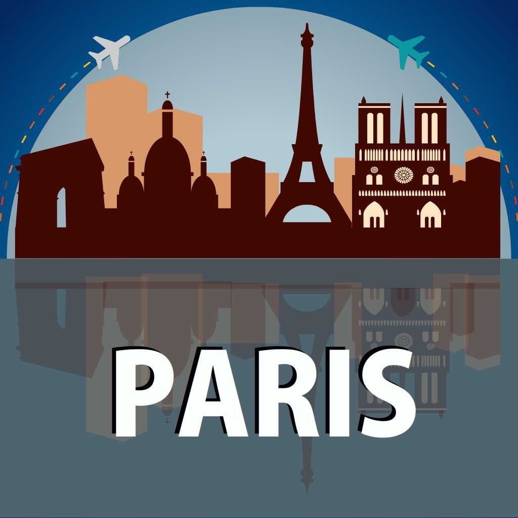 Paris Travel Guide - Offline Map