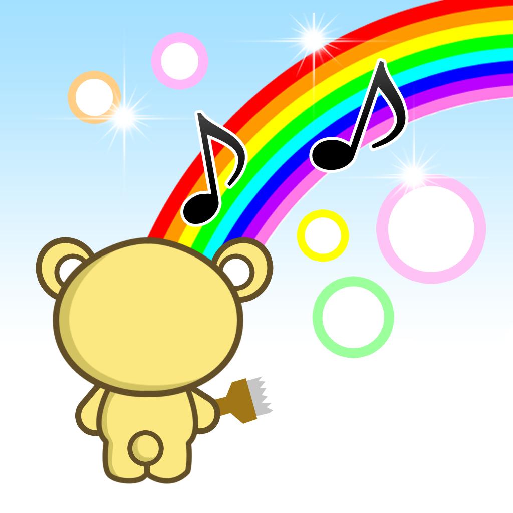 キラキラお絵かき - 子ども・赤ちゃん・幼児向けの無料知育アプリ