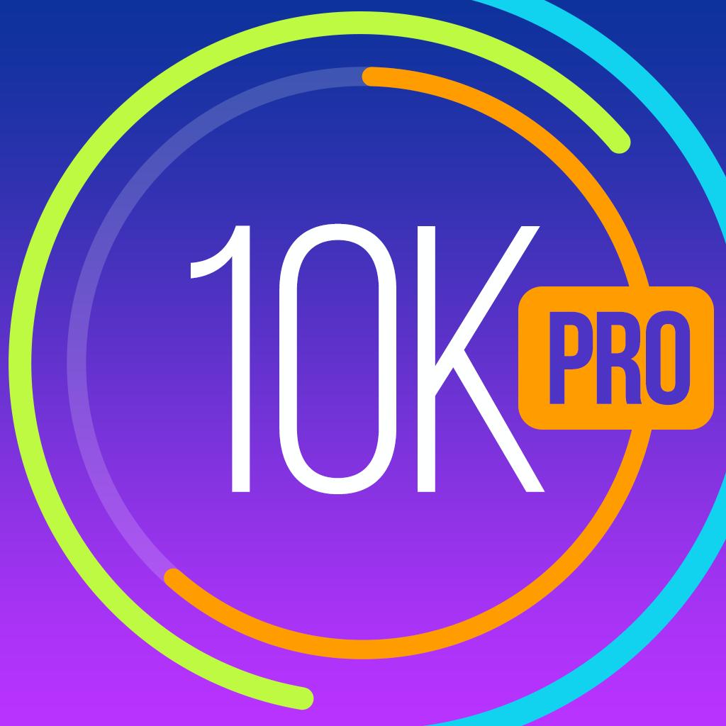 Run 10K PRO! Training plan, GPS & Running Tips by Red Rock Apps iOS App