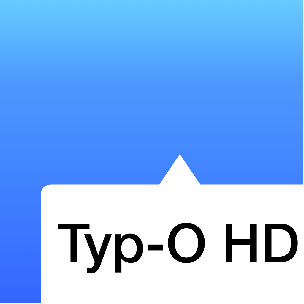 Typ-O HD - Writing is for Everybody!