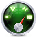 StatsBar - System Monitor for CPU, Memory, Disk Space, Network & Battery