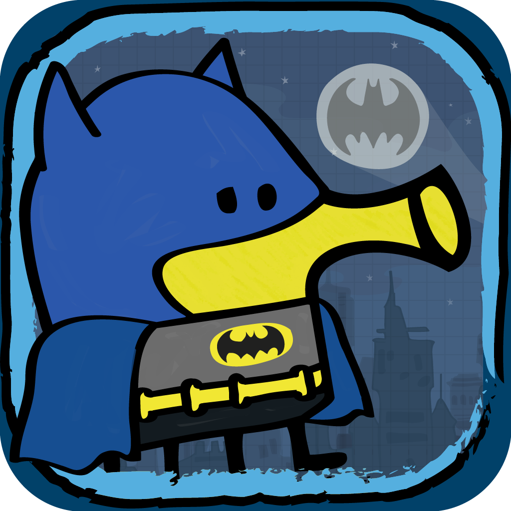 Doodle Jump DC Super Heroes - Warner Bros. Entertainment