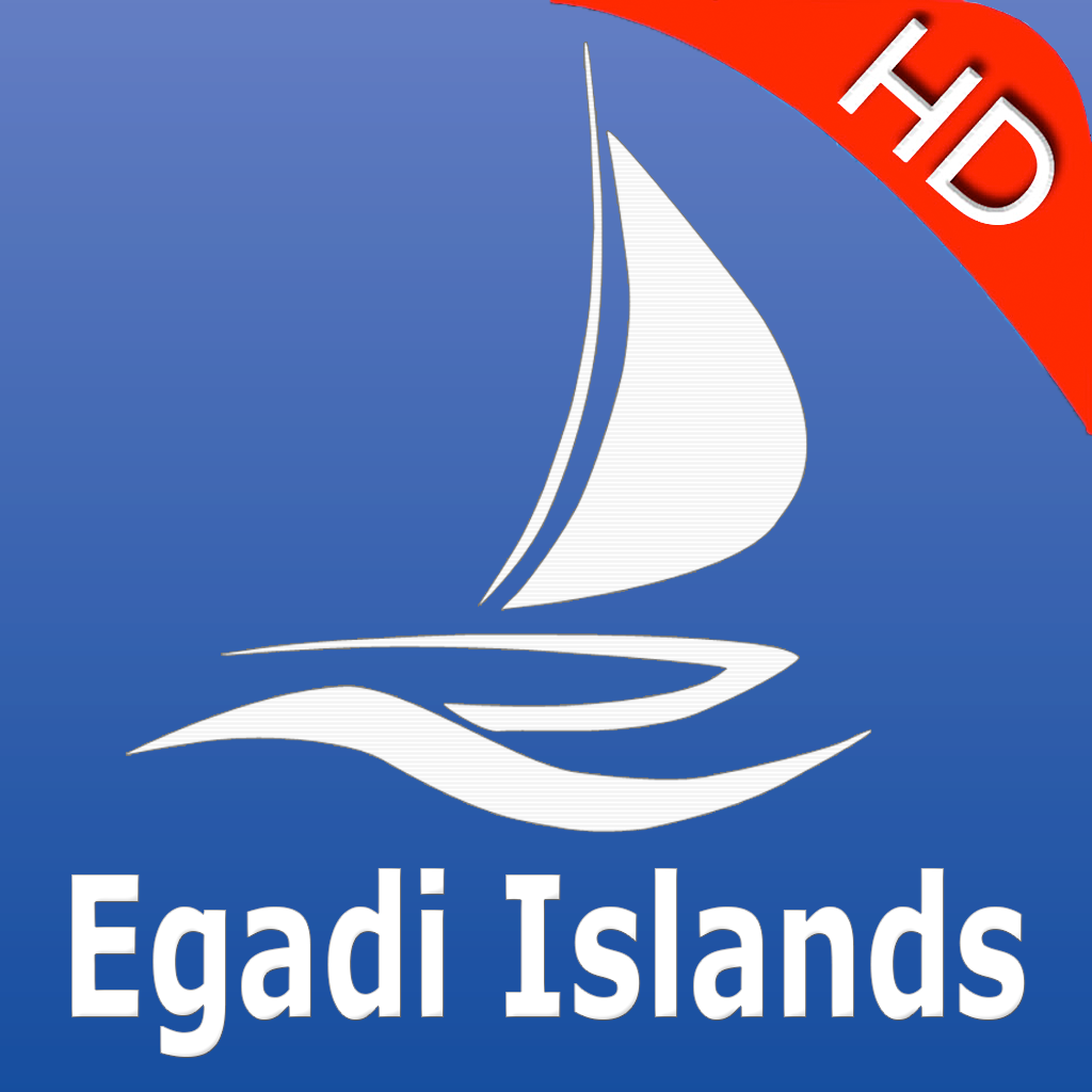 Egadi Islands GPS Nautical charts pro