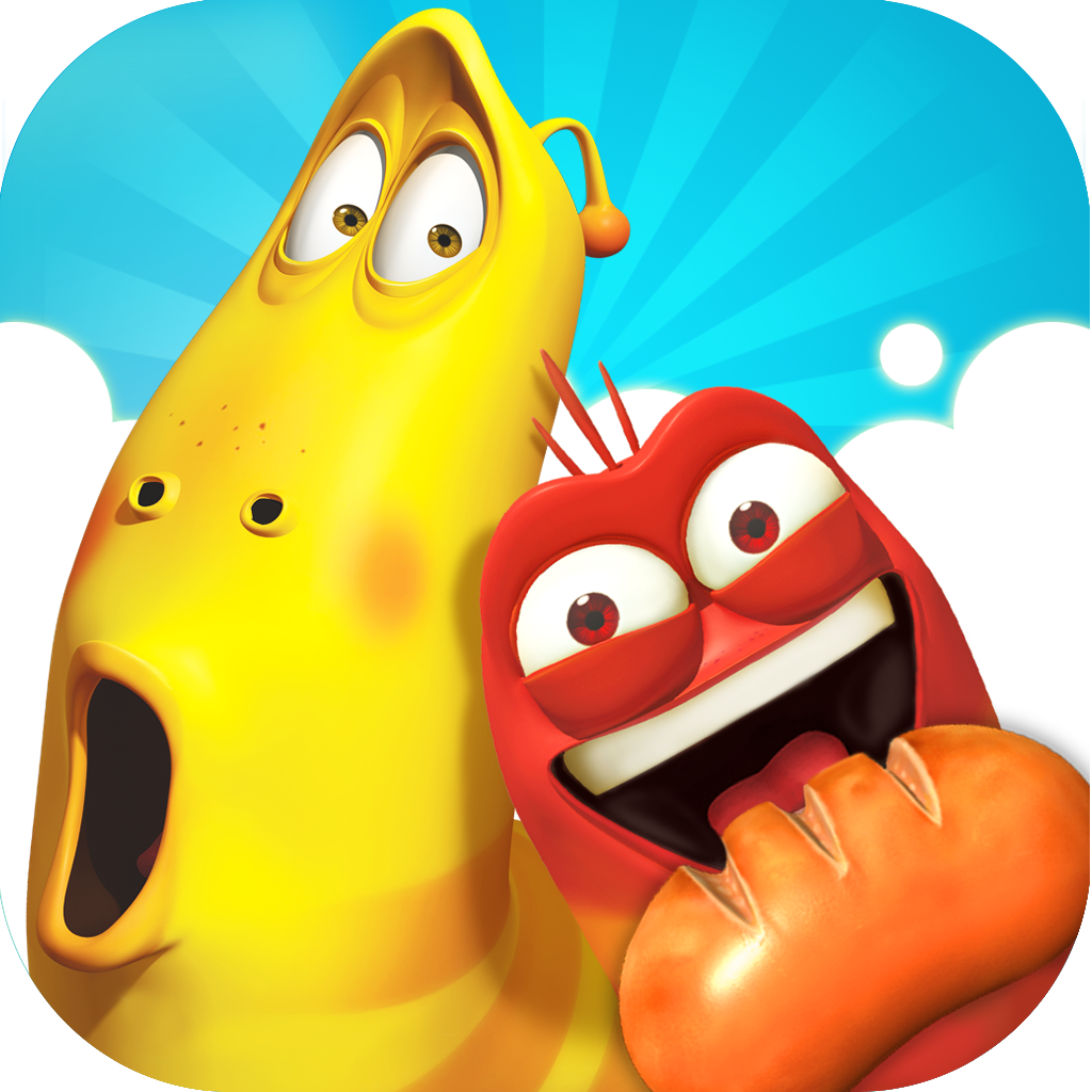 Fruit link mania - App Icon Larva Link
