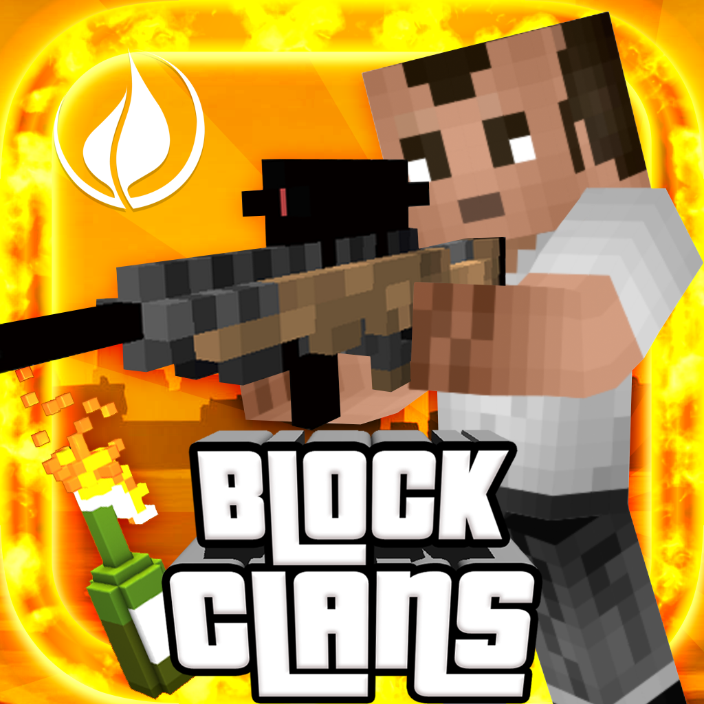 Block Clans - Survival Pixel World Gun in 3D Block - Imagine ...