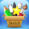 素描画家Sketch Painter – 在无限大画布上绘画、勾边、书写以及插入矢量图