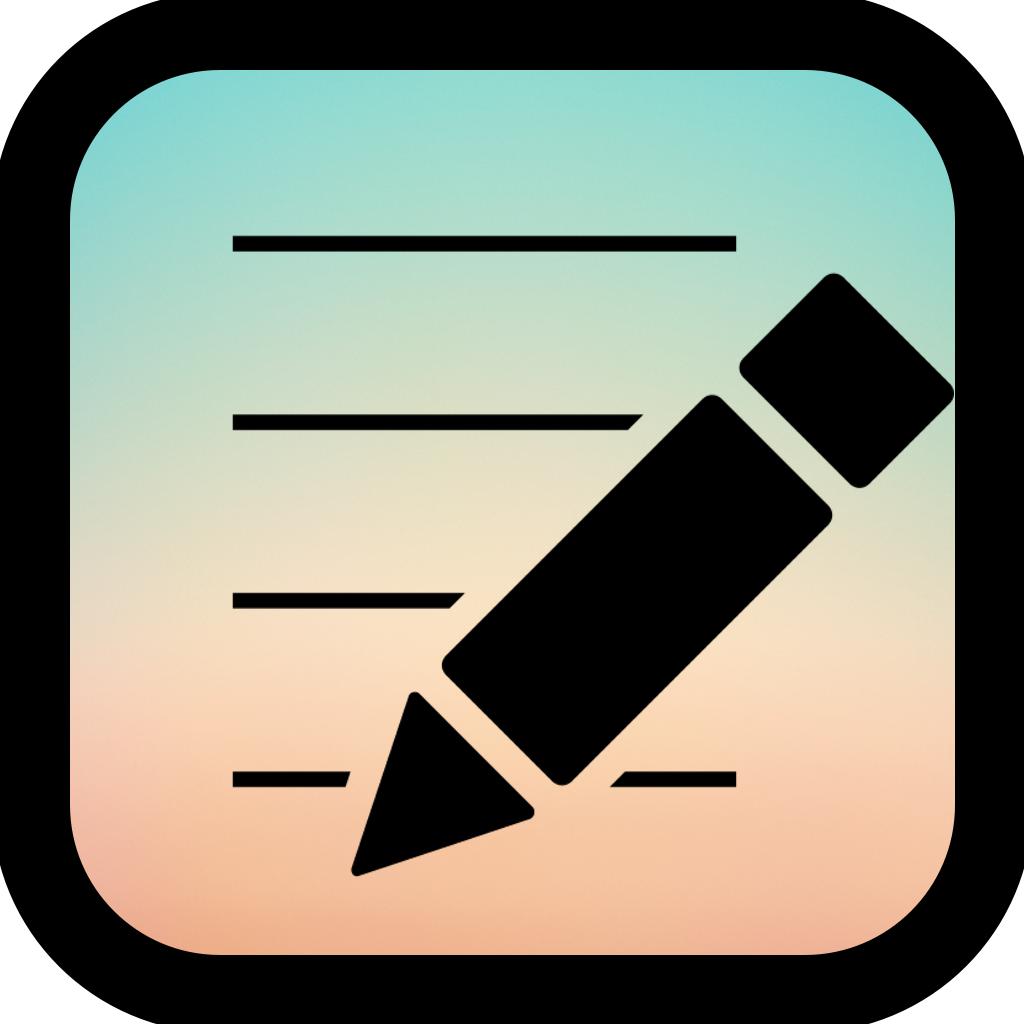 ロック画面メモ?付箋のようなメモ付きの壁紙を作成するアプリ