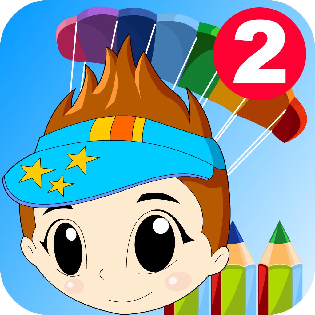 儿童幼儿画板宝宝涂色 - 进阶版 para ipad y iphone