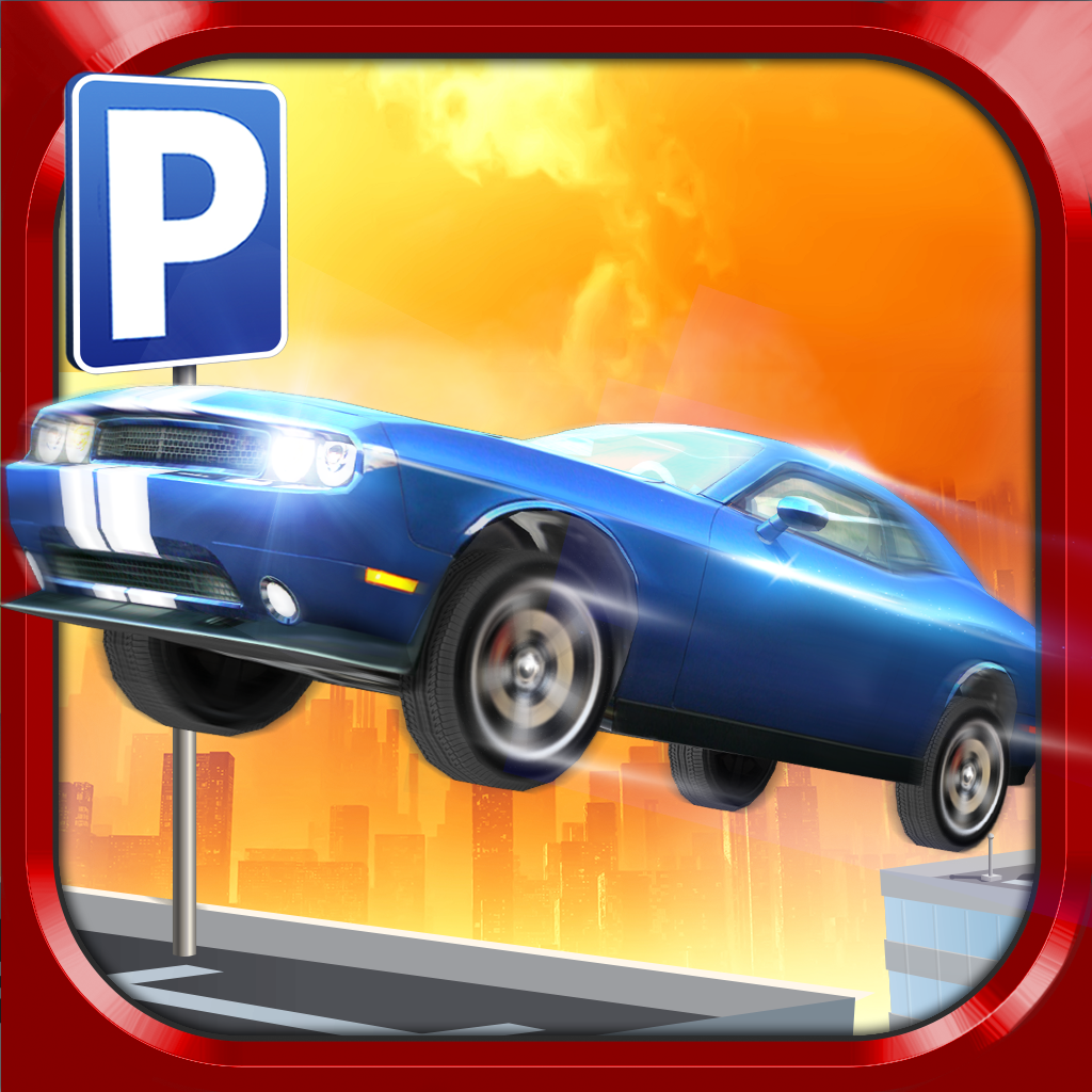 roof jumping parking simulator 2 gratuit jeux de voiture de course par play with games ltd. Black Bedroom Furniture Sets. Home Design Ideas