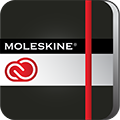 Moleskine, a Creative Cloud connected app