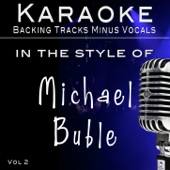 Everything (Backing Track as performed by Michael Buble')