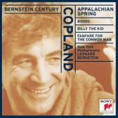 Bernstein Century - Copland: Appalachian Spring, Rodeo, Billy the Kid, Fanfare for the Common Man (Billy The Kid) - Leonard Bernstein & New York Philharmonic Cover Art