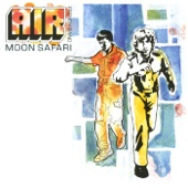 Air - Moon Safari Grafik