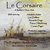 "Le Corsaire: Act II - ""18. Scene: Pirates Trap Medora"" - Evergreen Symphony Orchestra, Kevin Galiè & Anna-Marie Holmes"
