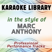 Celos (Karaoke Version) [In the Style of Marc Anthony]