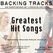 Greatest Hit Songs Vol 54 (Backing Tracks Minus Vocals)