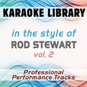 Sailing (Karaoke Version No Backing Vocal) [In the Style of Rod Stewart]