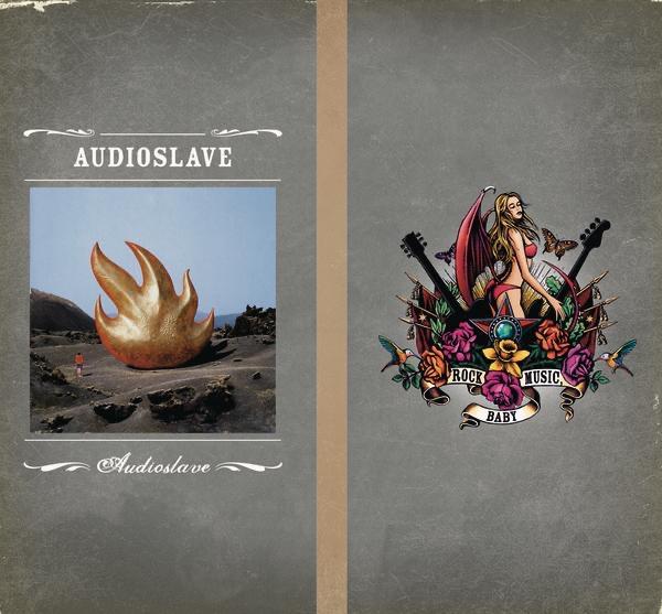 Audioslave Chris Cornell CD cover