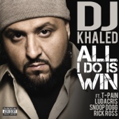 All I Do Is Win (feat. T-Pain, Ludacris, Snoop Dogg & Rick Ross) - DJ Khaled Cover Art
