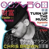 Chris Brown - Turn Up the Music artwork