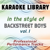 Karaoke Library - As Long As You Love Me (Instrumental Only) [In the Style of Backstreet Boys] artwork