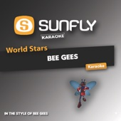 World Stars Karaoke - Bee Gees