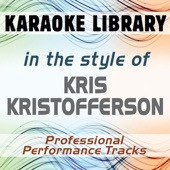 Sunday Mornin' Comin' Down (Karaoke Version No Backing Vocal) [In the Style of Kris Kristofferson]