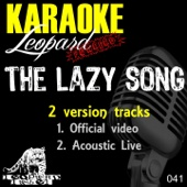 The Lazy Song (Official Video Karaoke Version In the Style of  Bruno Mars) [Free mp3 Download songs and listen music]