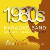 1980's Karaoke Band - 1980s Karaoke Classics Volume 1 artwork