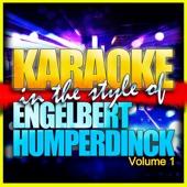 Can't Take My Eyes of You (In The Style of Engelbert Humperdinck) [Karaoke Version]