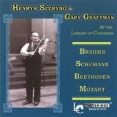 Henryk Szeryng and Gary Graffman in Concert