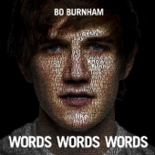 Cover to Bo Burnham's Words Words Words